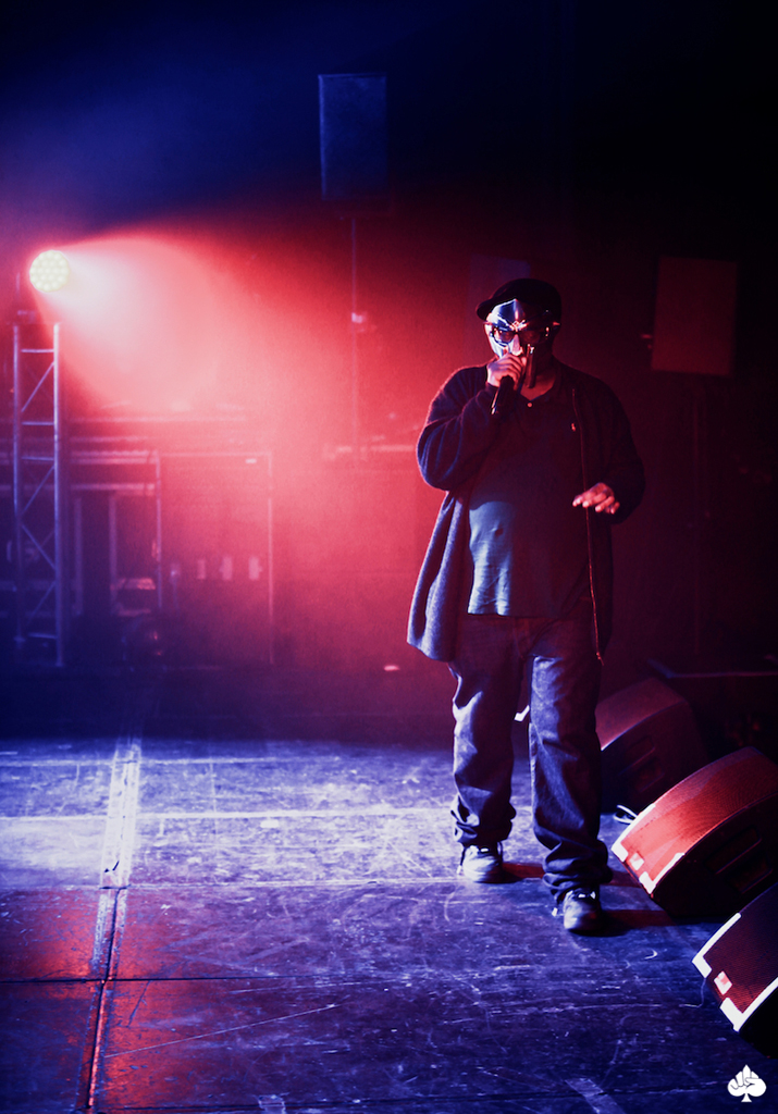MF DOOM live at L'Original in Lyon, France (shot by Mr. Mass)