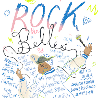 NYC : Jean Grae, Boog Brown, Chopp & More Take The Stage At The Second Annual 'Rock The Belles' 5/24
