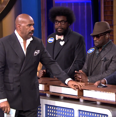 The Roots Take On Fallon & Co In Family Feud On The Tonight Show