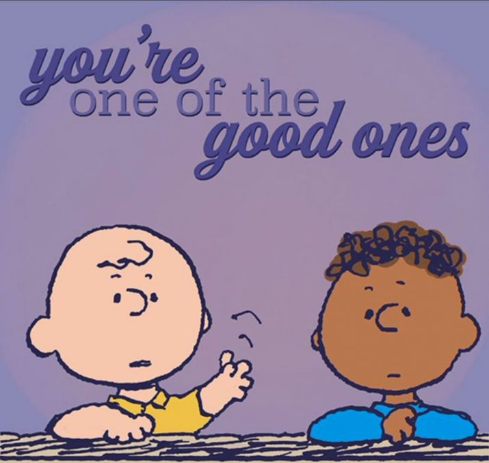 Who Approved This Official Racist Charlie Brown Social Media Post?