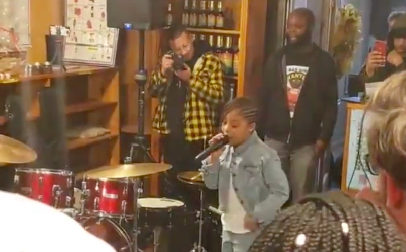"Watch an 8-Year-Old Rapper Light Up Roc Marciano's ""Snow"" with All-Pro Bars"
