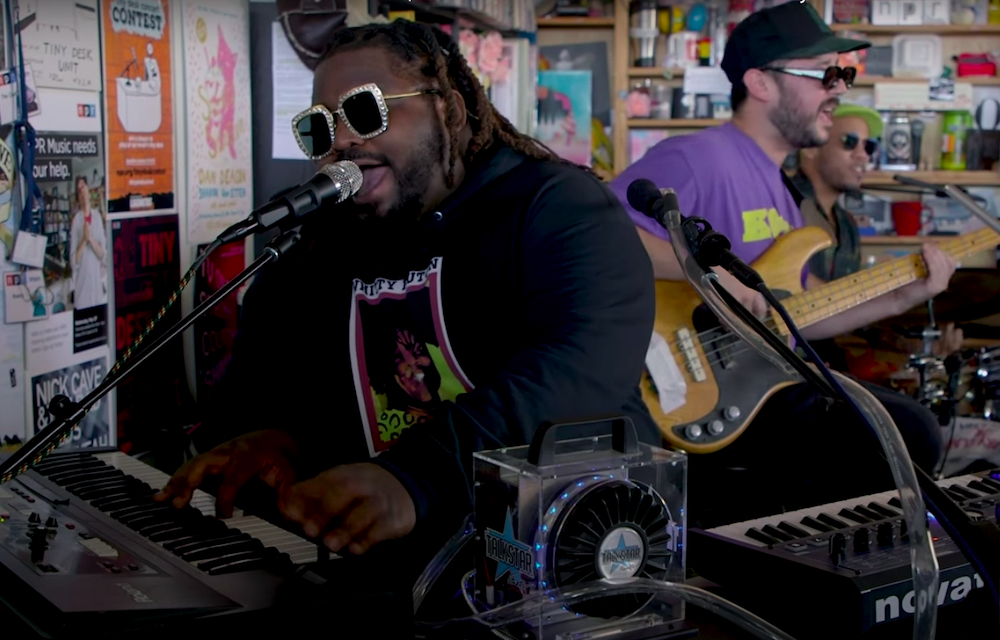 Watch Free Nationals Return to 'Tiny Desk' with Anderson .Paak, India Shawn, and Chronixx