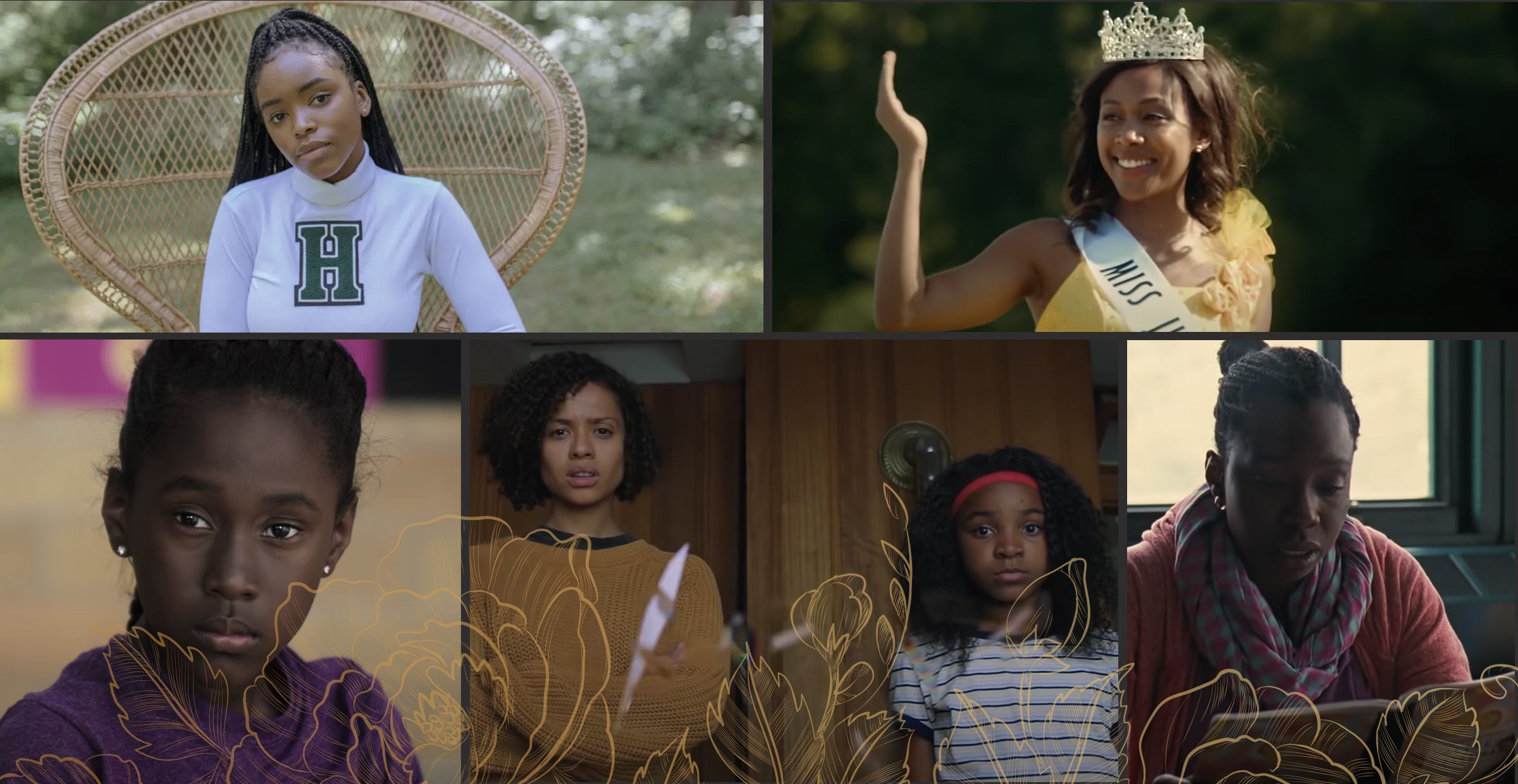 Coming of age Movie collage