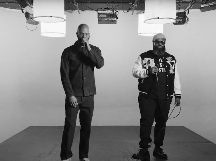 "Common and Black Thought Bring ""Say Peace"" to 'The Tonight Show'"