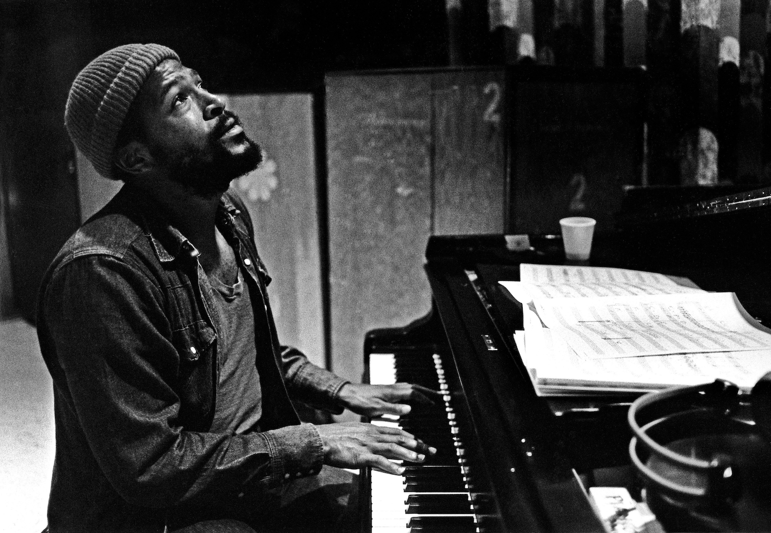 A Rare Instrumental Marvin Gaye Album has Surfaced