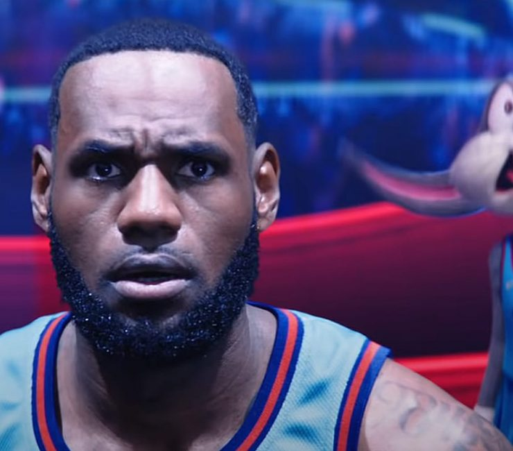 LeBron James Bugs Bunny Space Jam