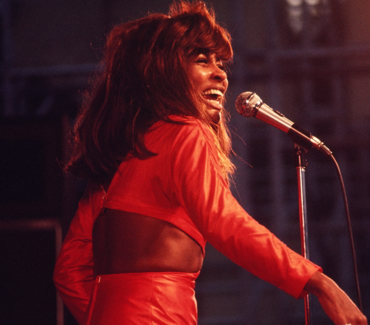 Tina Turner Performing