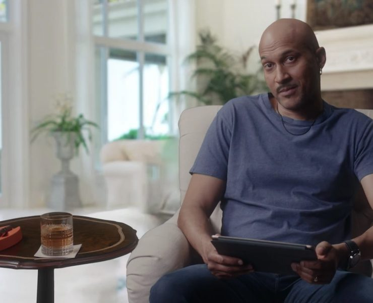 Keegan-Michael Key as Michael Jordan in the Saturday Night Live parody of 'The Last Dance'