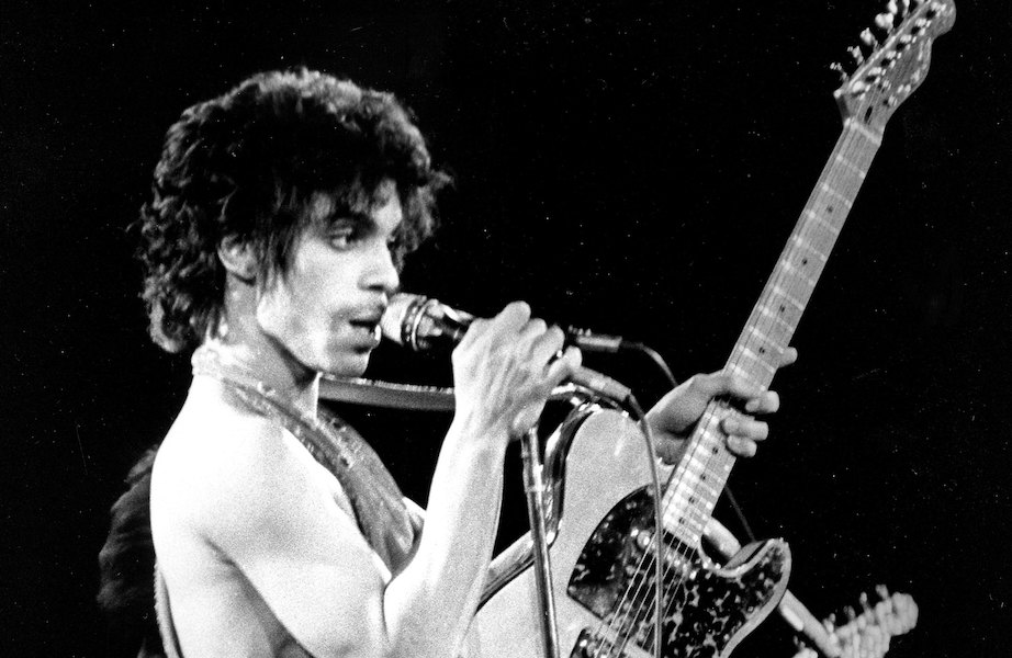 Prince performs at Cobo Hall on December 20, 1980 in Detroit, Michigan.
