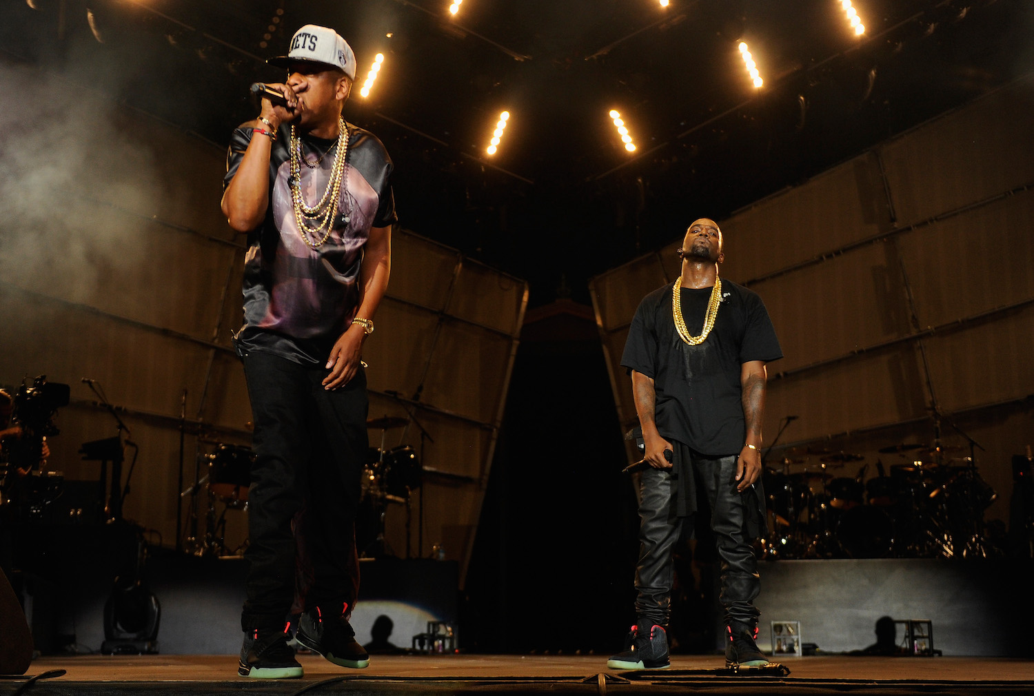 JAY-Z Kanye West the Throne